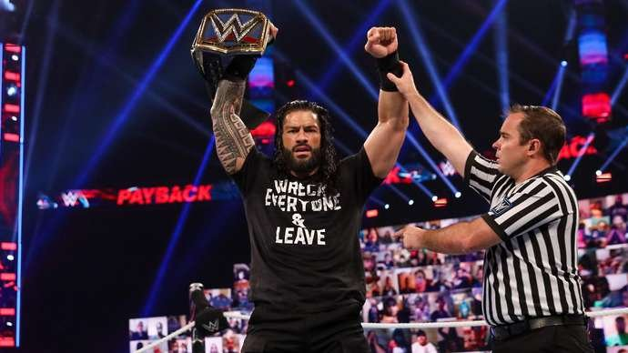 Reigns only makes it second on the list
